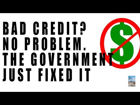 Why You DON'T Have to Worry About BAD CREDIT! This Just Happened.