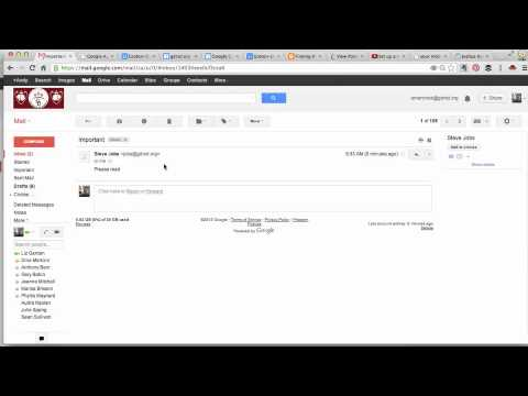 Request a Read Receipt in GMail