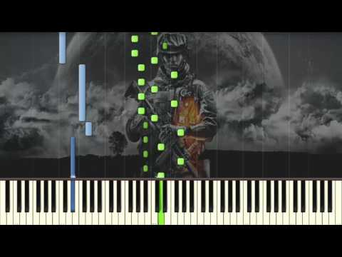Battlefield 3 - Solomon's Theme - Piano tutorial (Synthesia)