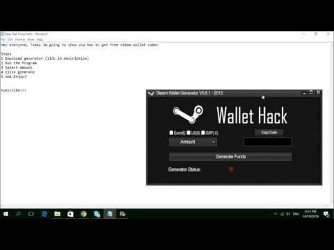 Get Steam Wallet - no survey - free