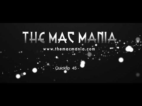 MAC OS X Yosemite Tutorial: trackpad
