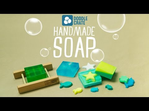 Make Your Own Soap - Doodle Crate Project Instructions