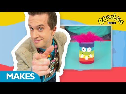 CBeebies: Mister Maker - Sock Pot Puppet - 1 Minute Make