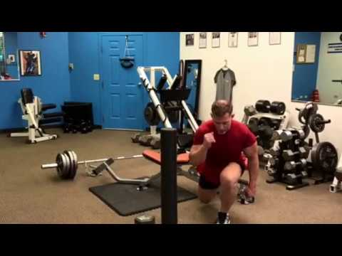 HOW TO DO ONE-LEGGED SQUATS TO BUILD QUADS, GLUTES, AND CALVES | Darin's Exercise of the Week 010