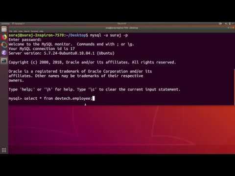 Python PyMySQL Tutorial 3 : Insert Records Into MySQL Database