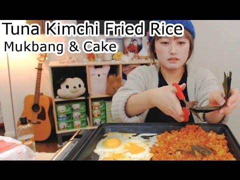 Tuna Kimchi Fried Rice [동원참치김치볶음밥] Cooking/Mukbang | KEEMI