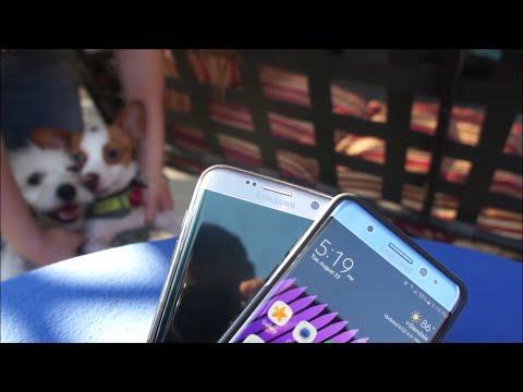 Samsung Galaxy Note 7 vs Samsung Galaxy S7 Edge Quick Comparison