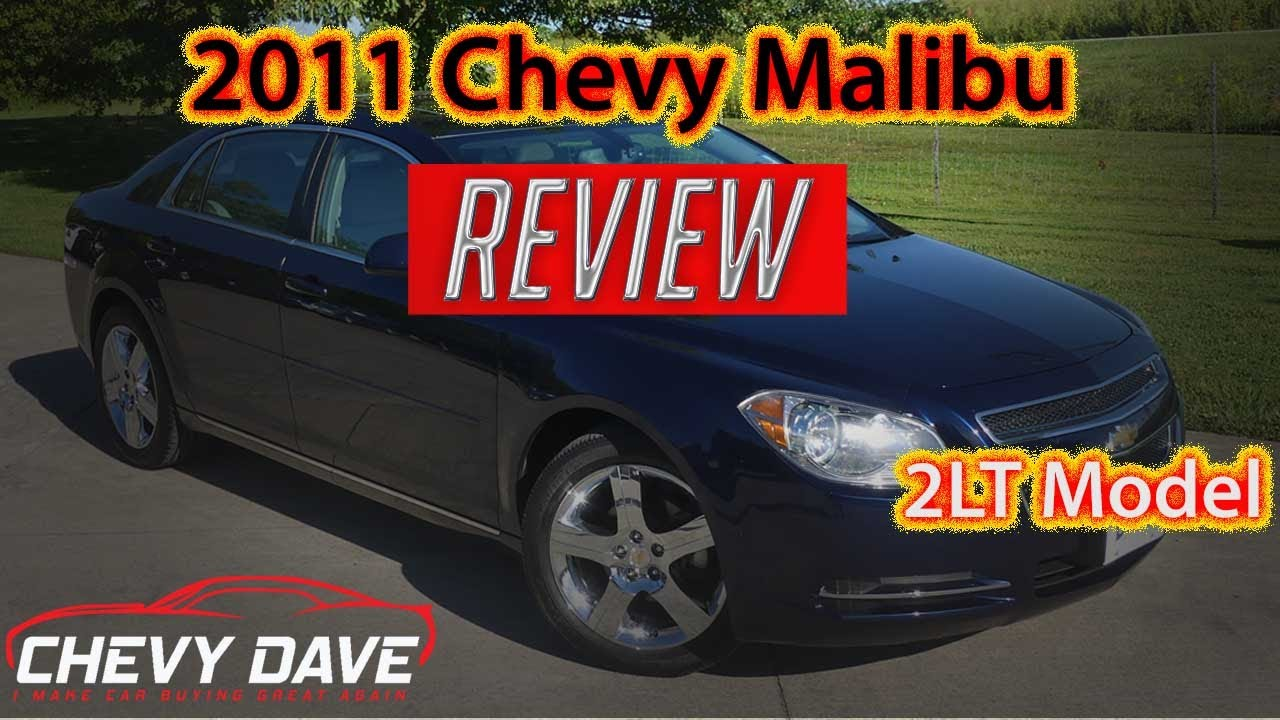 2011 Chevy Malibu LT Review - Chevy Malibu 2LT Review - 5372A