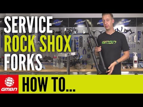 How To Service Rock Shox MTB Fork | Mountain Bike Maintenance