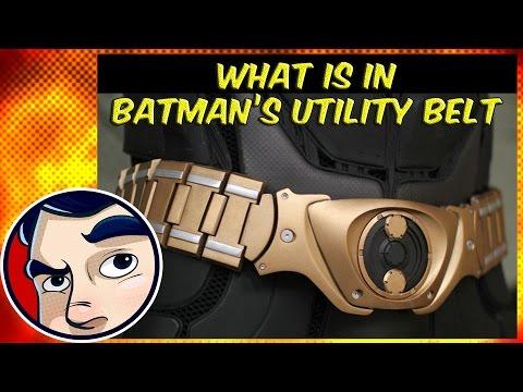 Whats in Batmans Utility Belt & Other Bat Gadgets? - Know Your Universe