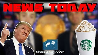 News Today - Pumpkin Spice Coffee, The Walking Dead Season 8, Trump Administration, Harvey Weinstein
