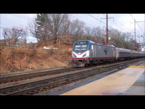 Northeast Corridor Action at Metuchen and Metropark 12/24/16