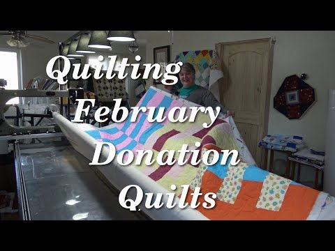 Quilting February Donation Quilts