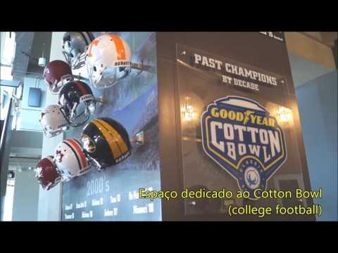 Visita ao AT&T Stadium (Dallas Cowboys)
