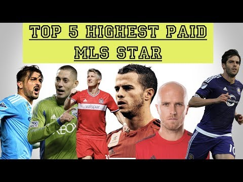 Top 5 Highest Paid MLS players(2017)