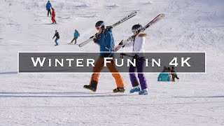 Winter Fun in 4K