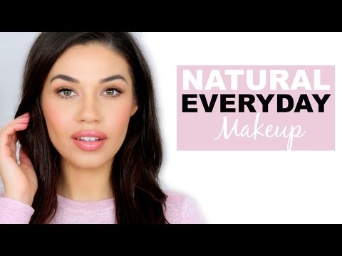 Simple Natural Everyday Drugstore Makeup Tutorial | How to  Makeup for School or Work | Eman