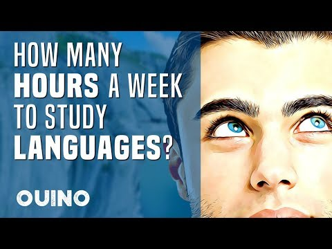 How Many Hours a Week Should You Study Languages? - OUINO™