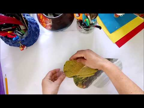 DIY How to make a charming flower using tull tutorial