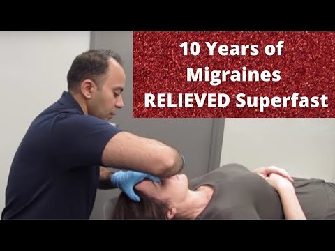 10 Years of Migraine Relieved Before Your Eyes!