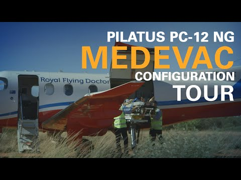 Tour of the Pilatus PC-12 Medevac Air Ambulance Configuration