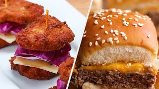 Download Mouth-Watering Slider Recipes To Serve To Your Friends • Tasty Video