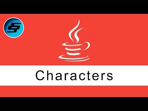 Characters - Java Programming