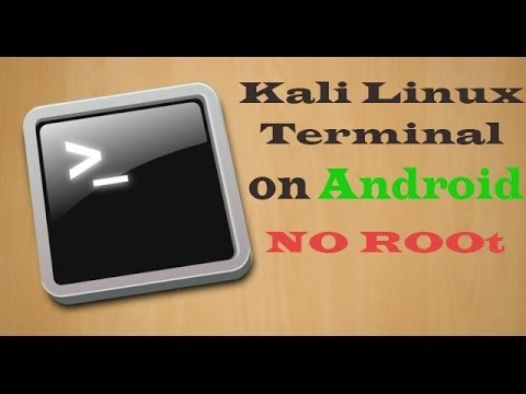 How to install and run kali linux Terminal on android phone | [No root]