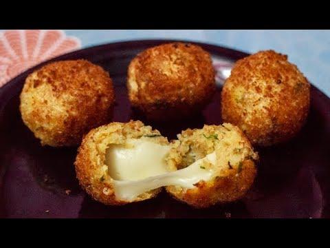 How to make Cheese Balls - Appetizer Recipe - Cheese Pakoda