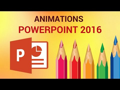 How to Make Animation in PowerPoint 2016