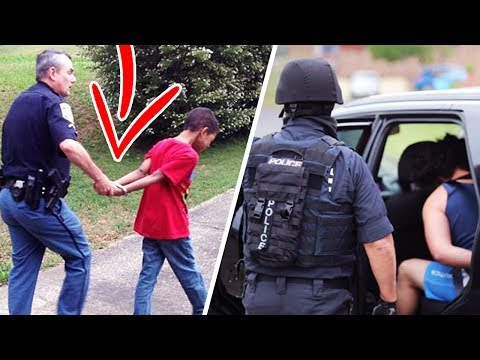 kid gets arrested for breathing! MUST WATCH!!!