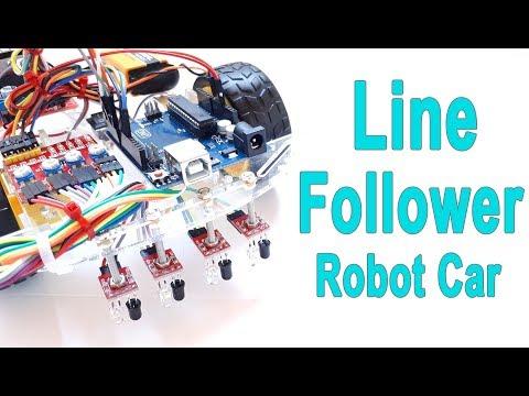 How to Make Arduino Line Following / Follower Robot Car
