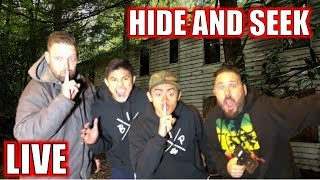 LIVE 🔴: HIDE AND SEEK IN ABANDONED GHOST TOWN (ft. OmarGoshTV)