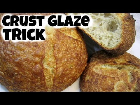 Baking Trick for a Shiny Incredible Bread Crust