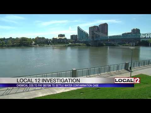 Chemical companies to pay $670M to settle water contamination case
