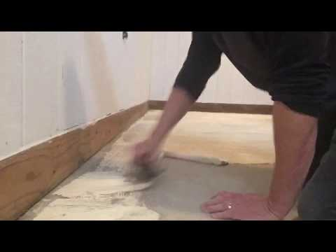 How to glue down indoor/ outdoor carpet in a basement carpettoolz.com