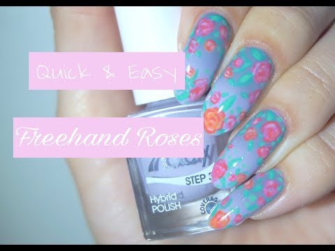 Quick & Easy | Freehand Roses