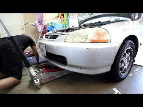 1996-2000 Honda Civic HX Manual Transmission drain and refill