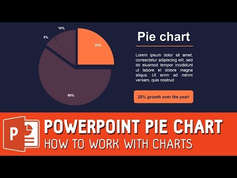 Powerpoint pie chart - how to work with charts ✔