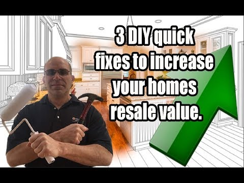 DIY Low Cost Tips To Increase Your Houses Resale Value