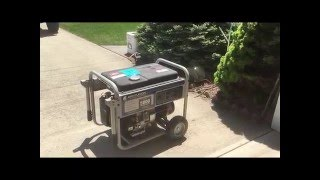 Low Cost Whole House Emergency Generator Back-feed