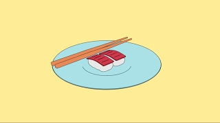 Blender 2.7x-How to Model Flat Shaded Sushi using Freestyle.