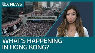 Why are there protests in Hong Kong? | ITV News