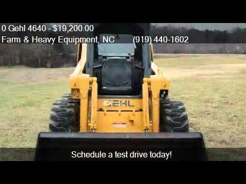 0 Gehl 4640 Skid Steer for sale in Farm and Heavy Equipment,