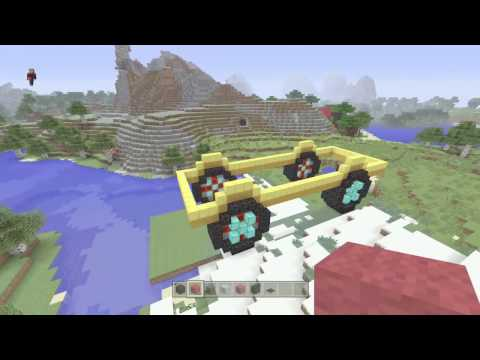 Minecraft Xbox one Creative: Lets Play Episode 4 - Who Can Build The Nicest Truck?