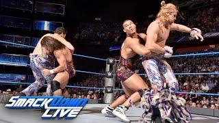 American Alpha vs. Breezango - Tag Team Championship Tournament Match: SmackDown Live, Aug. 23, 2016