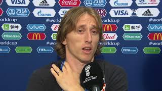 Luka MODRIC - Post Match Interview - 2018 FIFA World Cup™ FINAL