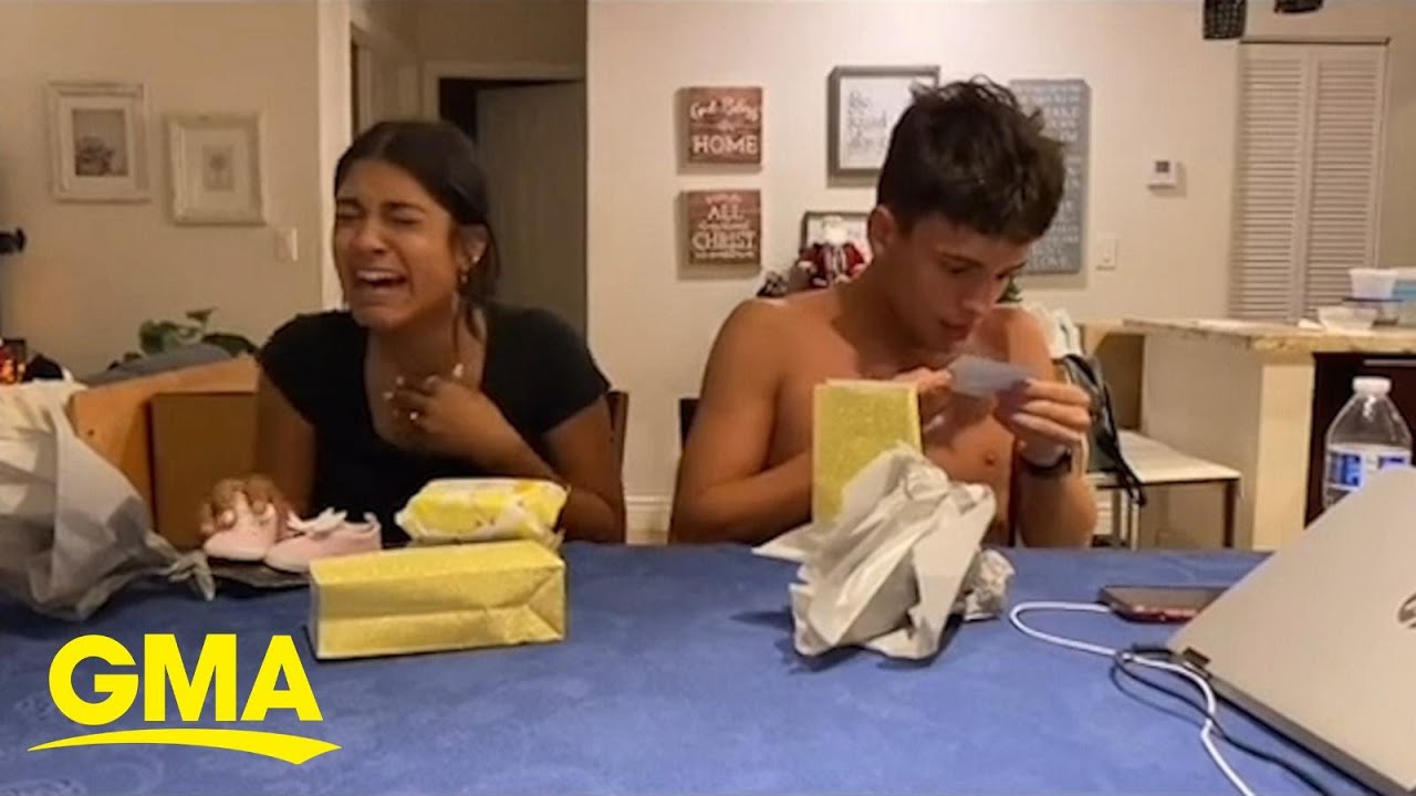 Siblings have hilarious reaction after learning their mom is pregnant again l GMA Digital