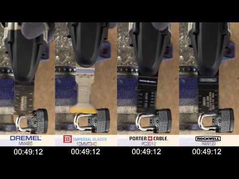 Cutting Through Case Hardened Metal - Dremel MM485