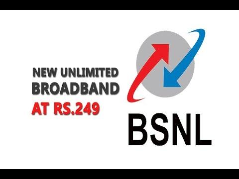 BSNL Broadband plan 249 speed test after 1gb limit